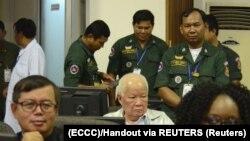 Sa suđenja Crvenim Kmerima