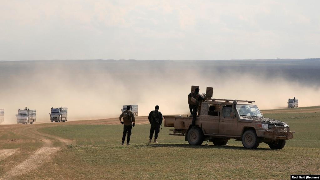 """Сирияда """"ИМ"""" бақылауындағы соңғы елді-мекенді азат ету операциясы басталды"""