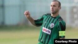 Миле Крстев, капитен на фудбалскиот клуб Металург.