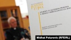 """Izvještaj Komisije """"Justitia et pax"""" Biskupske konferencije u BiH i Fondacije Fridrih Ebert, 19. april 2011"""