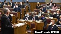 Pamje nga seanca parlamentare e 2 dhjetorit.