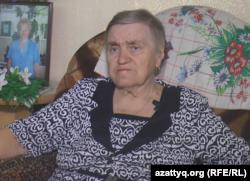 Жергілікті өлкетанушы Вера Яворская. Петропавл, 12 маусым 2017 жыл.