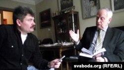 Дмытро Паўлычка і Міхась Скобла