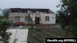 Бухарская область после урагана, 28 апреля, 2020