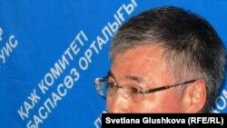 Султан Кусетов, председатель комитета уголовно-исполнительной системы Казахстана. Астана, 12 июля 2011 года.