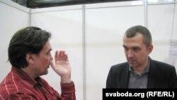Юры Андруховіч і Альгерд Бахарэвіч, Ляйпцыгскі кніжны кірмаш, 2012