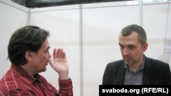 Юры Андруховіч і Альгерд Бахарэвіч