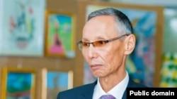 Руководитель общественного объединения учителей «Ағартушы» Омир Шыныбекулы.