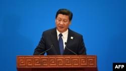 Кинескиот претседател Кси Џипинг.