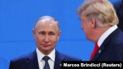 Владимир Путин и Дональд Трамп в Аргентине