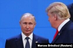 V.Putin və D.Tramp