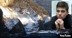 Актер и режиссер Сергей Бодров при сходе ледника Колка в 2002 году