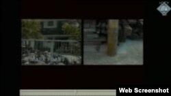 Snimka srebreničkih zarobljenika presnimljena snimkom granate na Petrovićevom balkonu