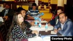 جانب من ورشة عمل لتدريب كوادر سورية في دهوك