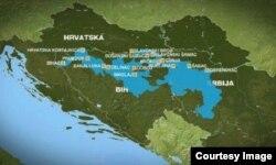 Зони затоплень на Балканах