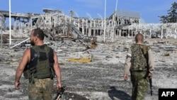 Руины Луганского международного аэропорта. Путешествия из Луганска самолетами остались лишь в воспоминаниях