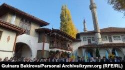 Мажилистин жаңы мүчөлөрүнө мандат берүү аземи, 1-ноябрь, 2013-жыл.