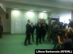 """Dmitri Rogozin: """"Rogozin: """"despre tot ce am discutat va povesteste Iurii Grigorievici""""."""