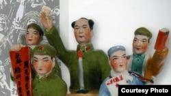 Скульптурная композиция. Китай. Завод Цзиньдэчжэнь. 1970-е годы
