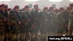 آرشیف، کوماندوهای ارتش افغانستان