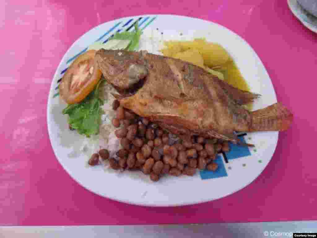 Традиционная еда в регионе Амазонки, Панама, Центральная Америка