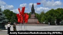 Пам'ятник молодогвардійцям у Краснодоні, 22 червня 2011 року