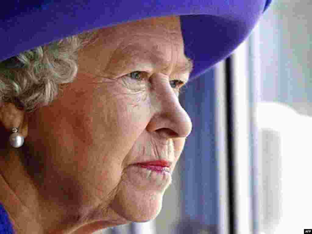 Britanska kraljica Elizabetha II