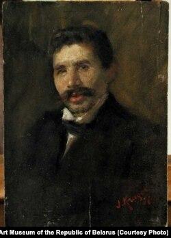 Партрэт скрыпача Жухавіцкага. 1897 г.