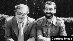 Augustin Buzura cu Mircea Iorgulescu în anii '70