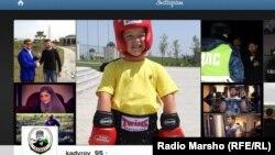 Кадыров Рамзанан Instagram сайта тIера агIо