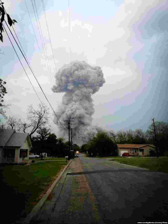 Облако взрыва