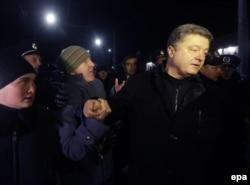 Петро Порошенко в Криму, 28 лютого 2014 року