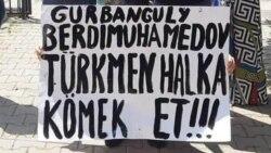 Syn: Türkmenistandaky netijesiz häkimiýet ilaty proteste itekleýär