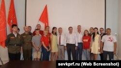 Секретари КПРФ Юрий Афонин и Сергей Обухов посетили Севастополь