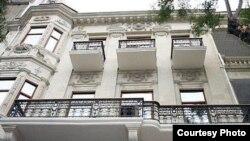 Azerbaijan -- Building of Azerbaijani Writers Union, undated