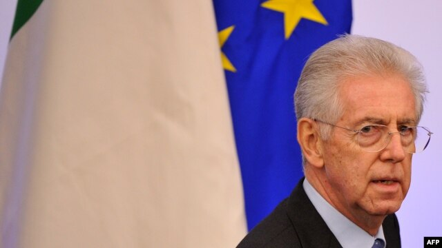 Italian Prime Minister Mario Monti is hosting other eurozone leaders in Rome.