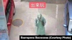 """Популярный в Китае мем """"Пойдем гулять"""", призывающий не бояться вируса"""