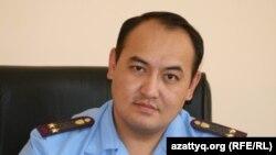 Қылмыстық-атқару жүйесі департаментінің Астана қалалық комитеті бастығы міндетін атқарушы Бауыржан Оразалин. 17 қыркүйек 2010 жыл.