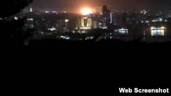 Ադրբեջան - Բաքուն մթության մեջ է, 3-ը հուլիսի, 2018թ․