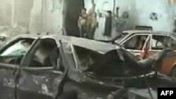 در پی انفجار بمب در يک خودرو در حومه بيروت سه نفر عصر روز سه شنبه کشته شدند