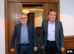 Dimitrov (lijevo) i Georgijev (desno) pred novi sastanak Komisije nisu bili optimisti