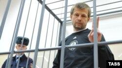 Евгений Урлашов в Басманном суде Москвы, ноябрь 2013 года