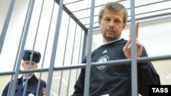 Евгений Урлашов на заседании суда