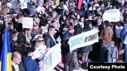 Акції солідарності з Україною у Мадриді