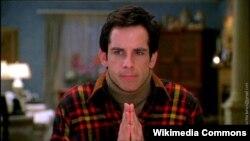 """Ben Stiller """"Valideynlərlə tanışlıq"""" filmində."""