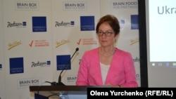 Мари Йованович на международной медиа-конференции, Киев, 27 апреля 2017
