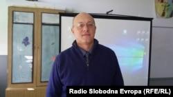Доктор Владимир Трајковски, претседателот на здружението на лица со аутизам.