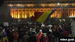 Anticorruption Protests Continue In Romania.