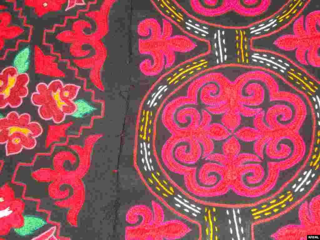 Многообразие кыргызского орнамента #8