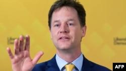 Ник Клегг, бывший заместитель премьер-министра Британии.